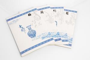 青花瓷软抄本